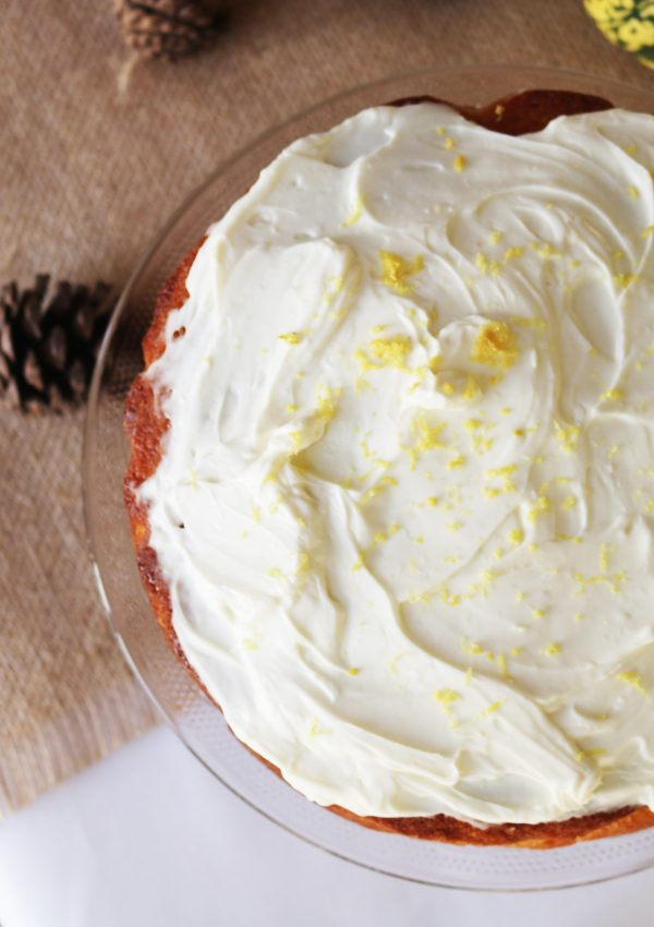 Scandinavian Almond and Lemon Cake