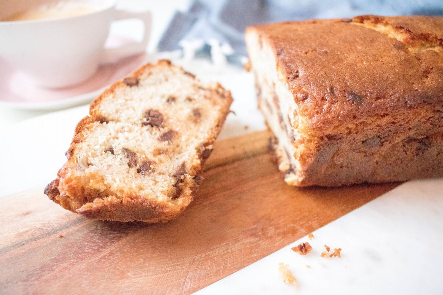 champagne lifestyle recipe banana loaf
