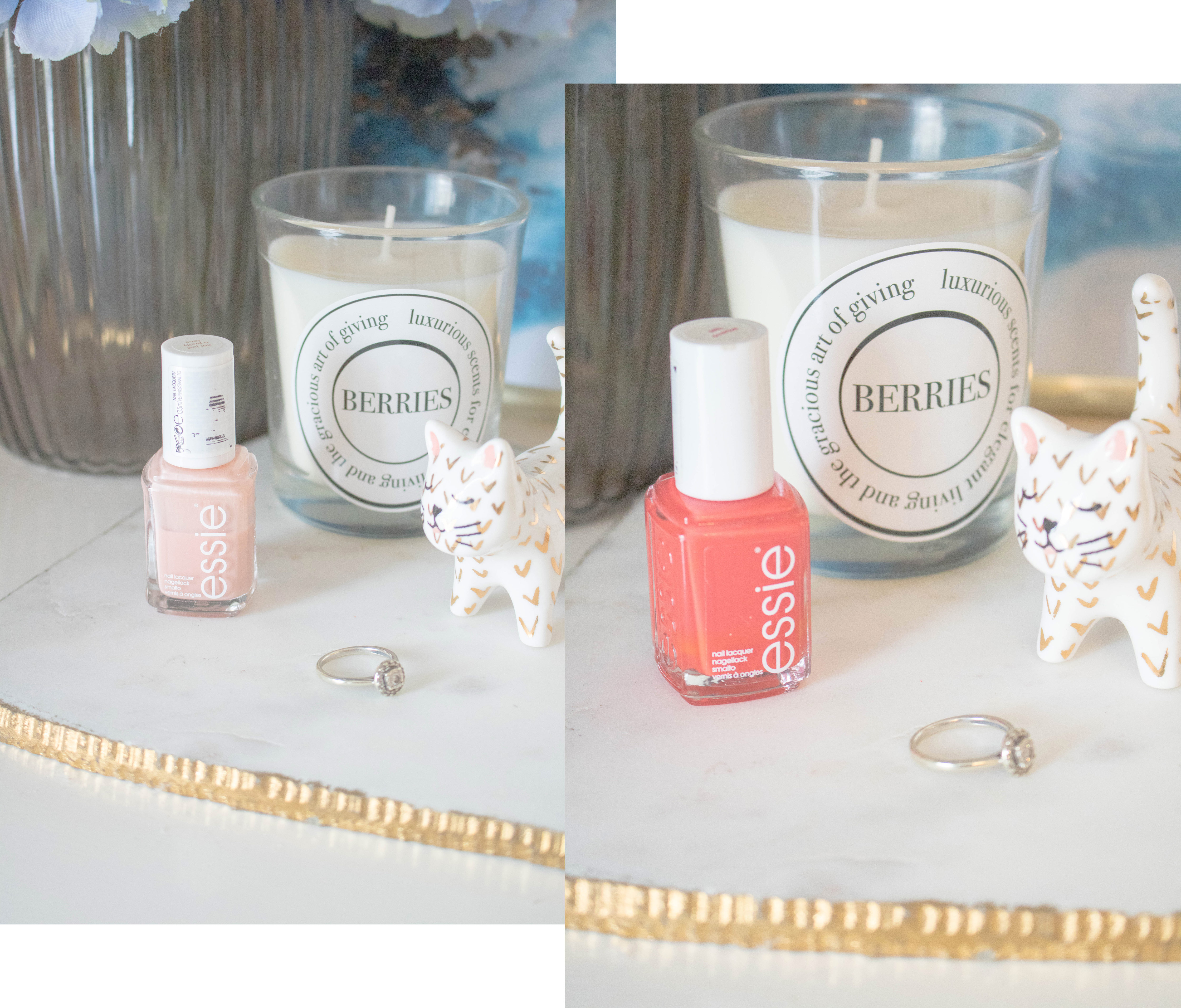 champagne lifestyle nail polish capsule collection