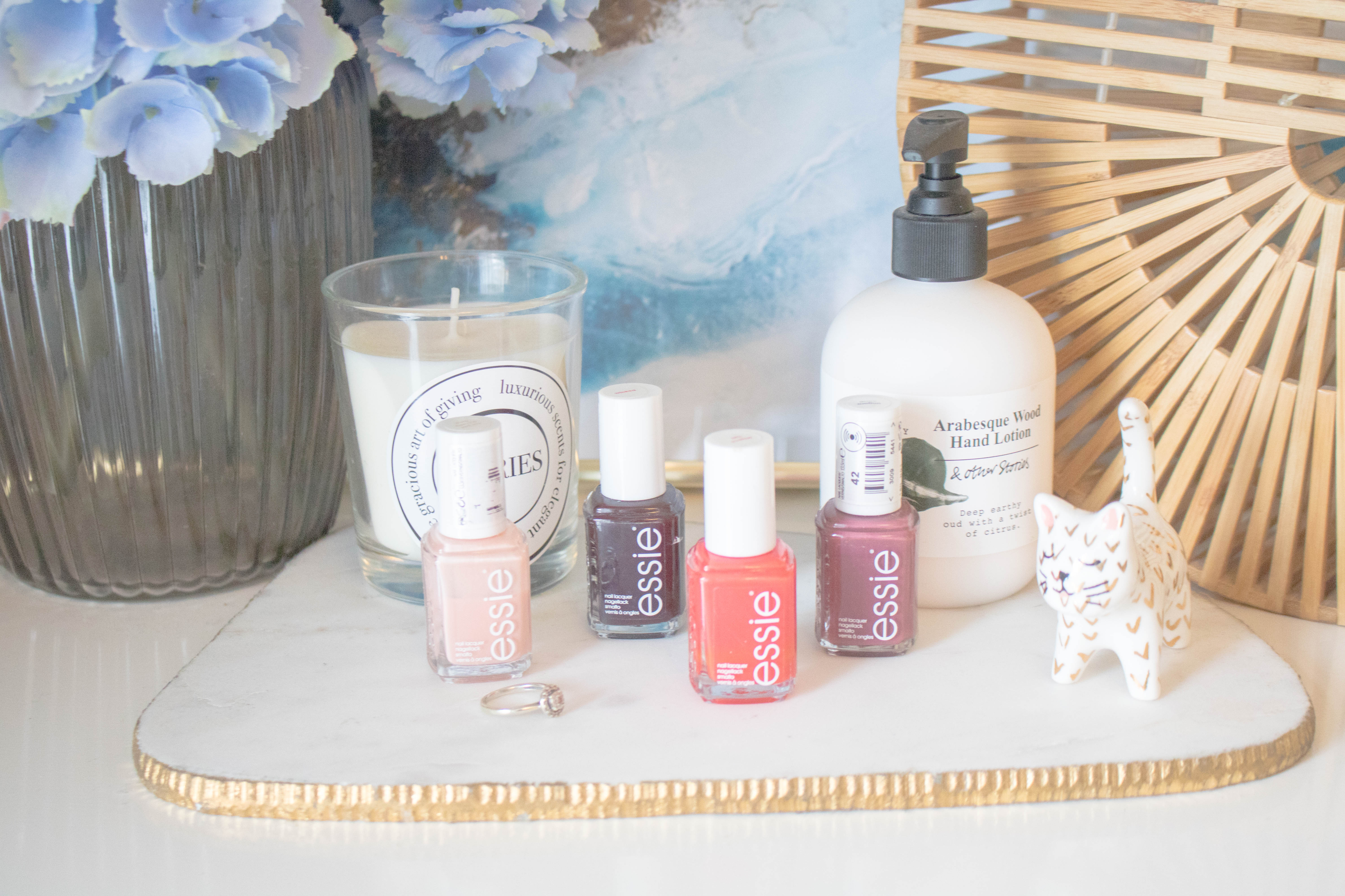 an edited lifestyle capsule nail polish collection