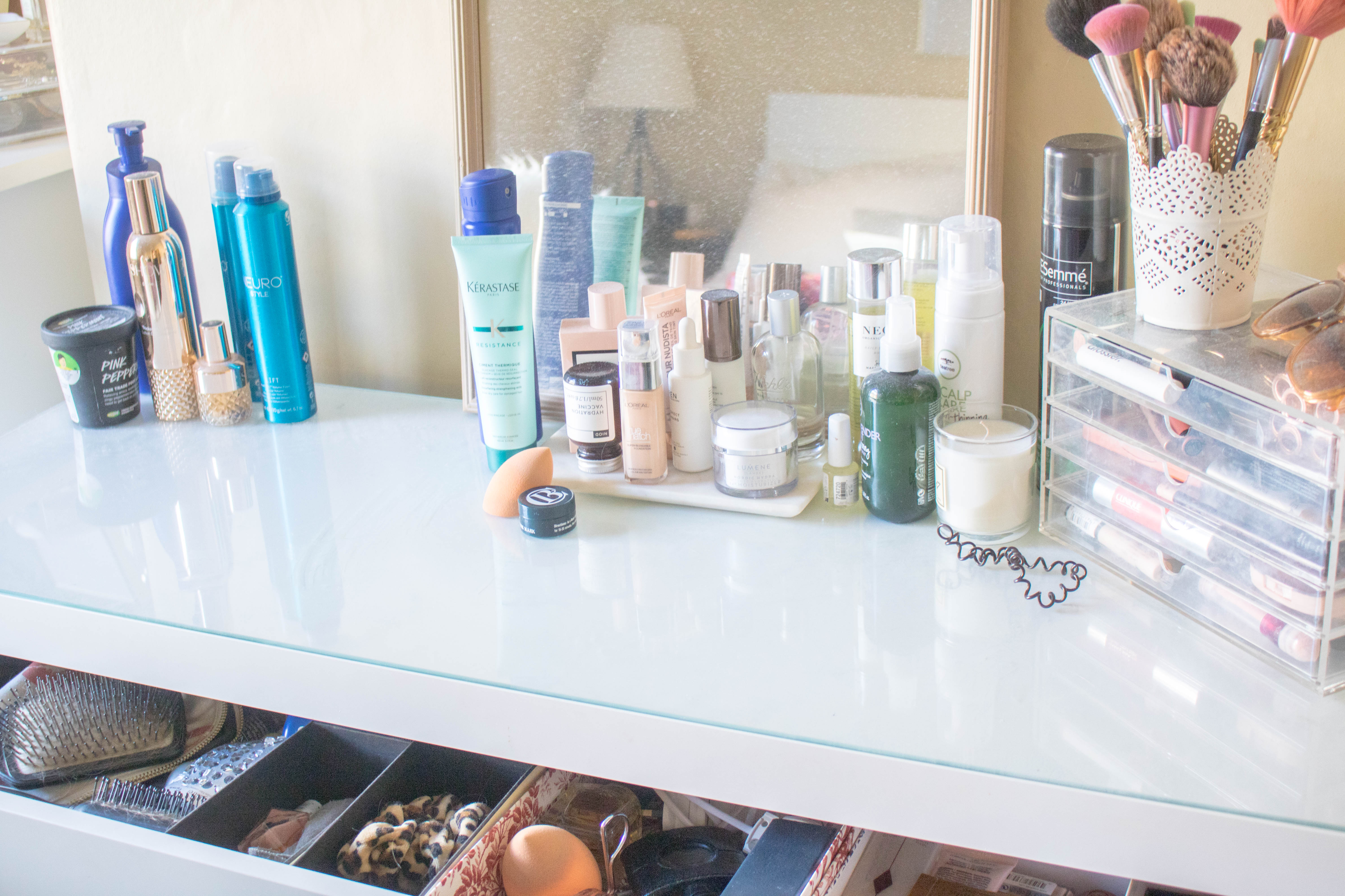 champagne lifestyle beauty makeup clear out