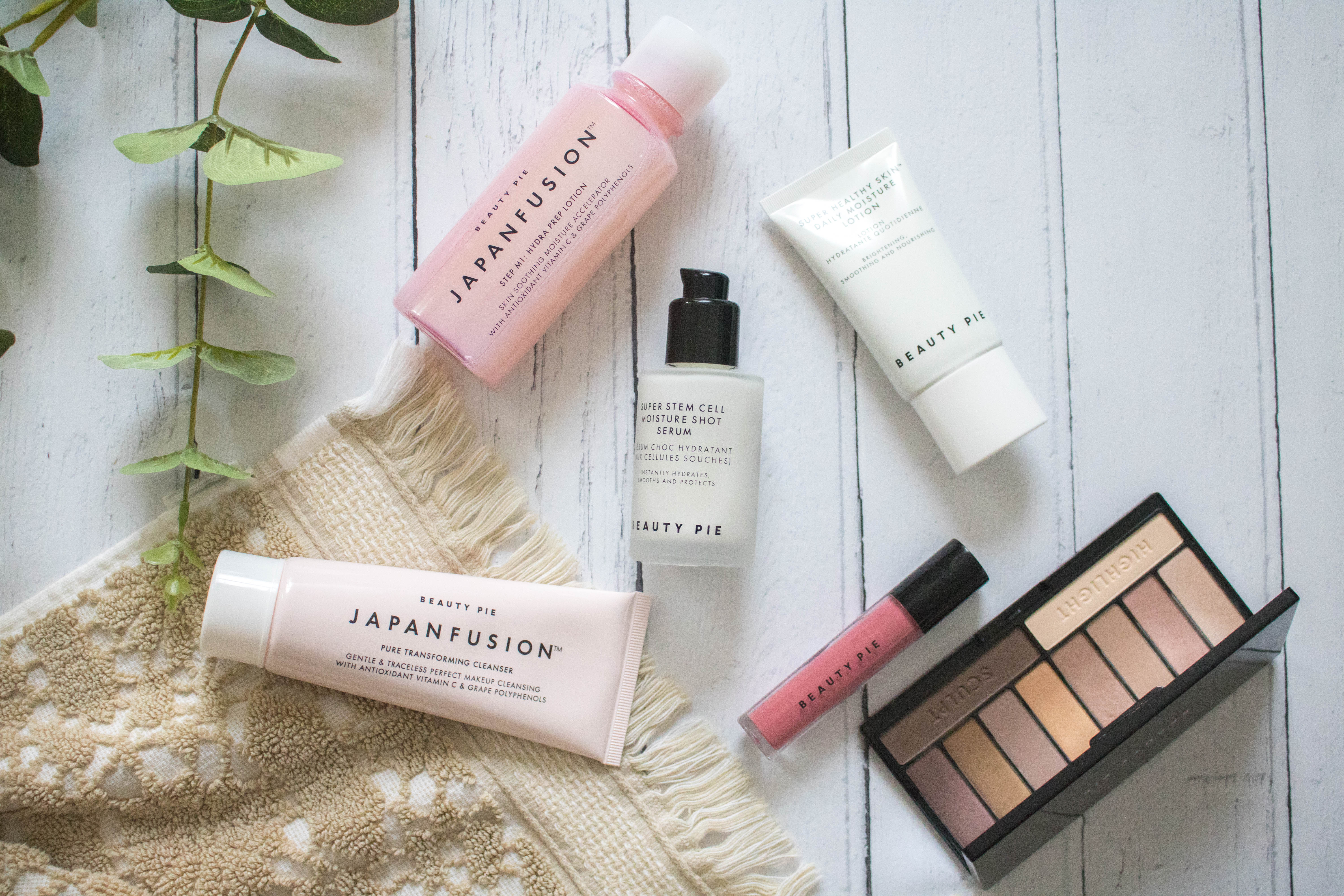 champagne lifestyle skincare beauty pie