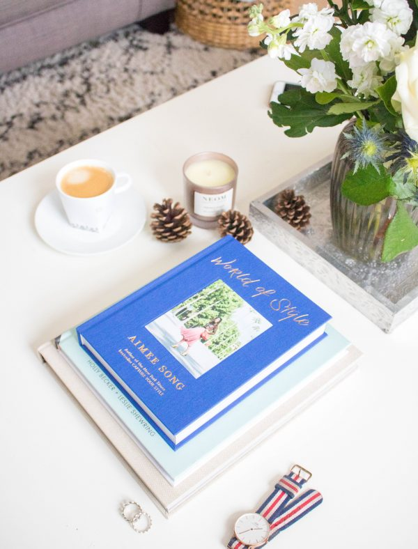 an edited lifestyle coffee table book haul