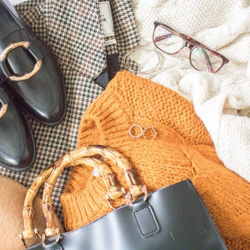 an edited lifestyle style winter wardrobe