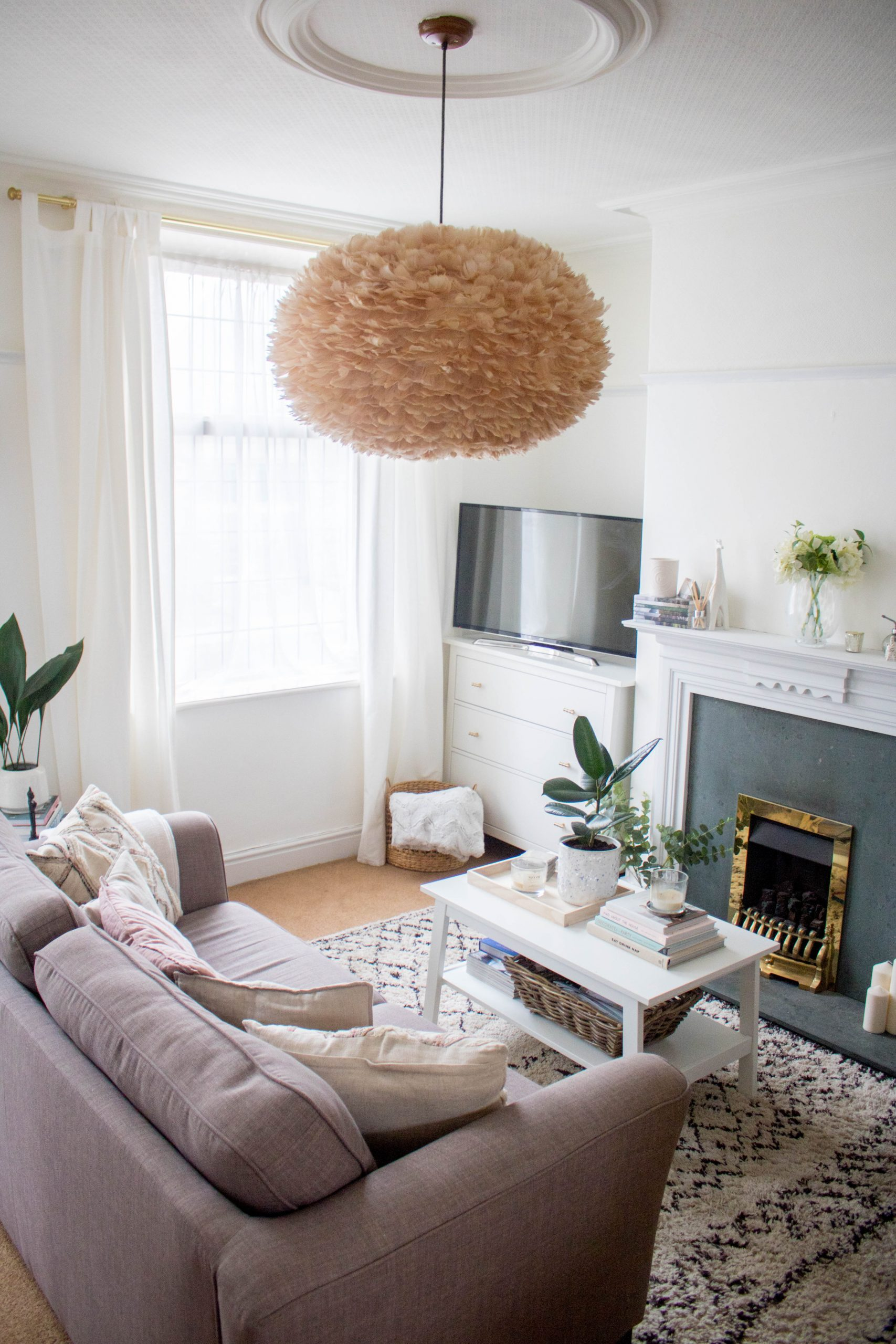 an edited lifestyle living room makeover