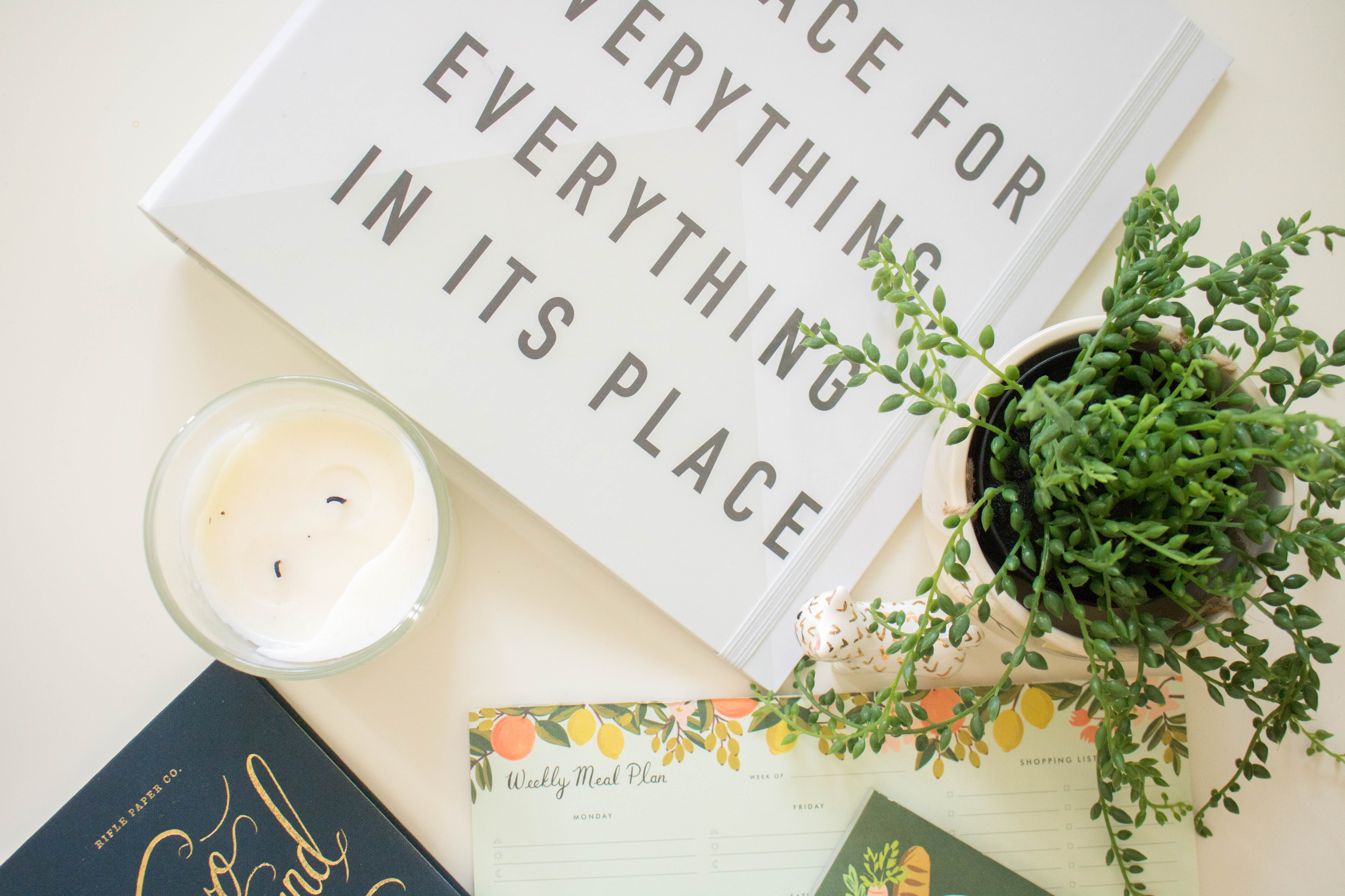 an edited lifestyle organisation how to organise your life