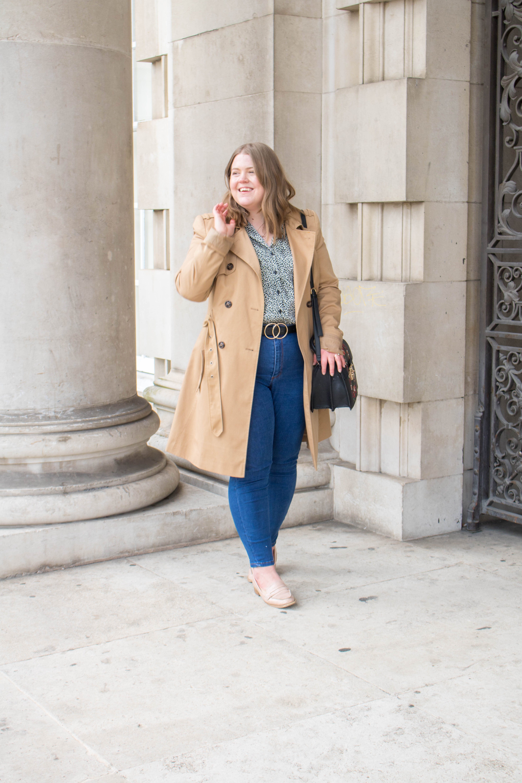 an edited lifestyle fashion style transitional wardrobe