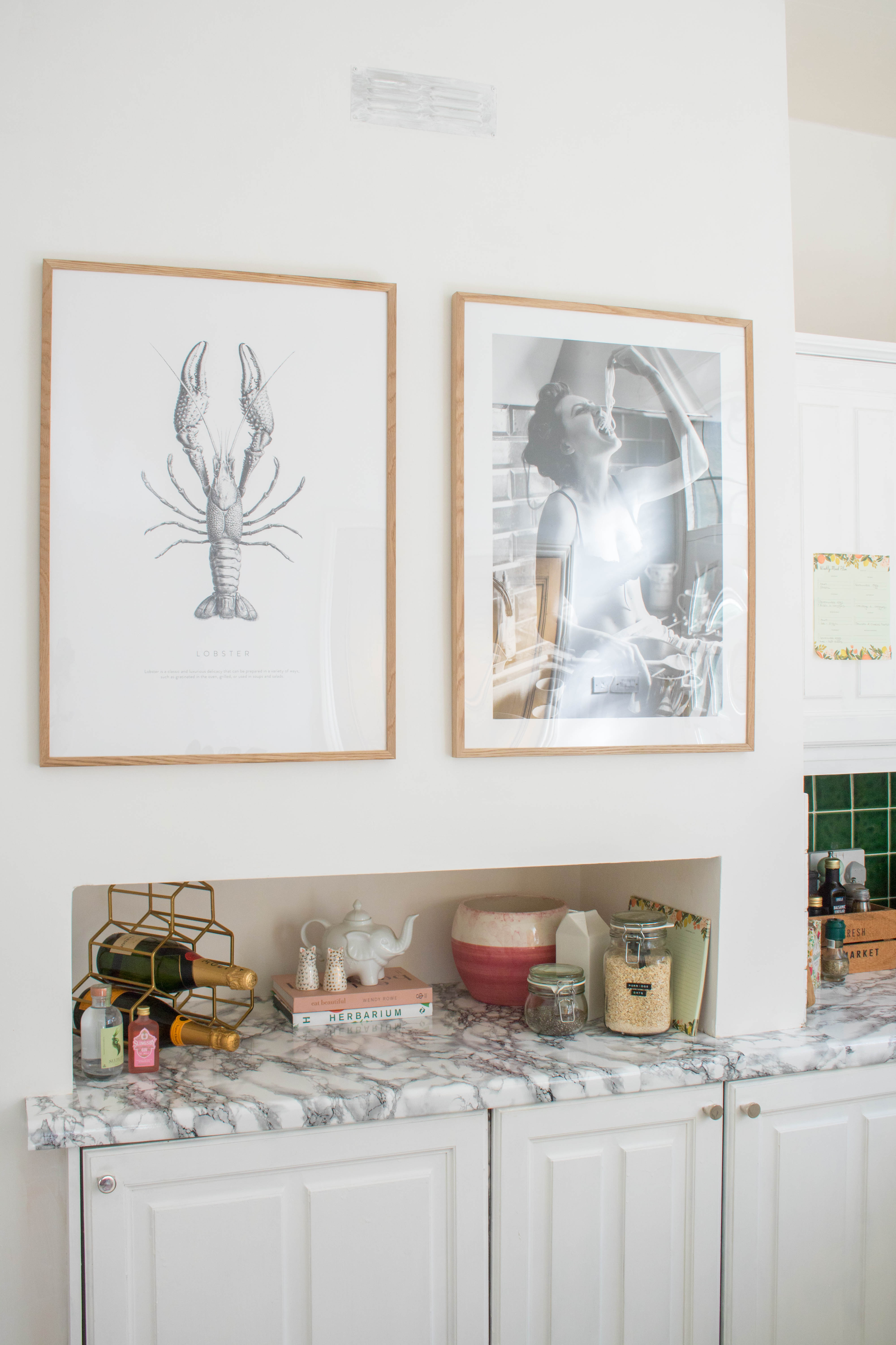 an edited lifestyle interiors desenio prints inspiration