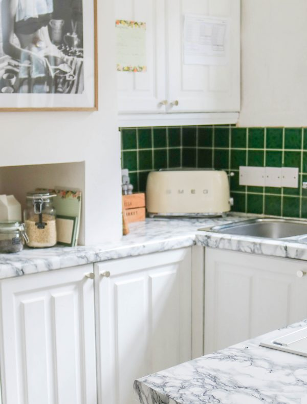 My Top Tips for Applying Contact Paper to Your Kitchen Counters