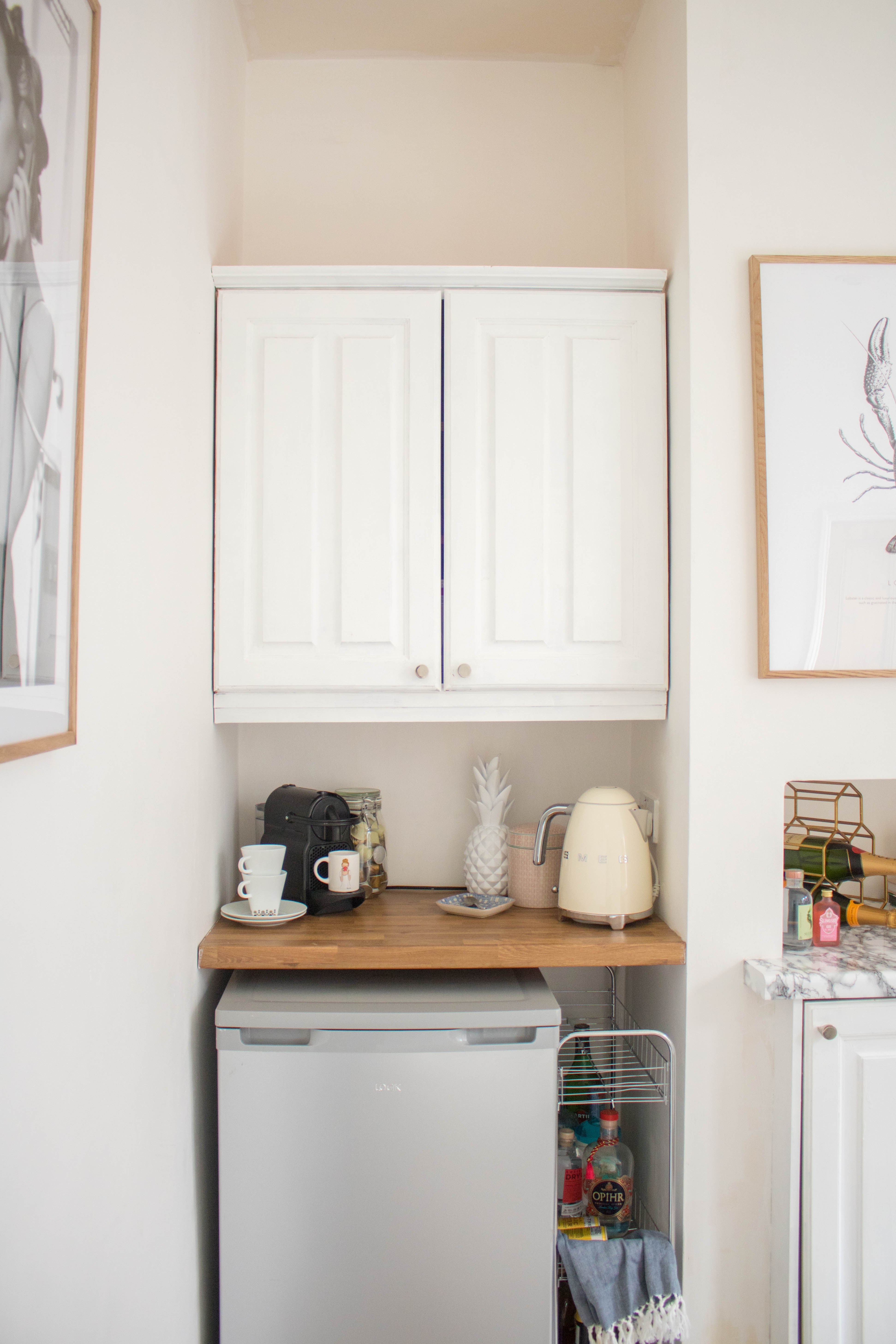 an edited lifestyle interiors rental kitchen makeover