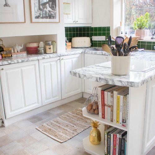 Our Rental Kitchen Makeover