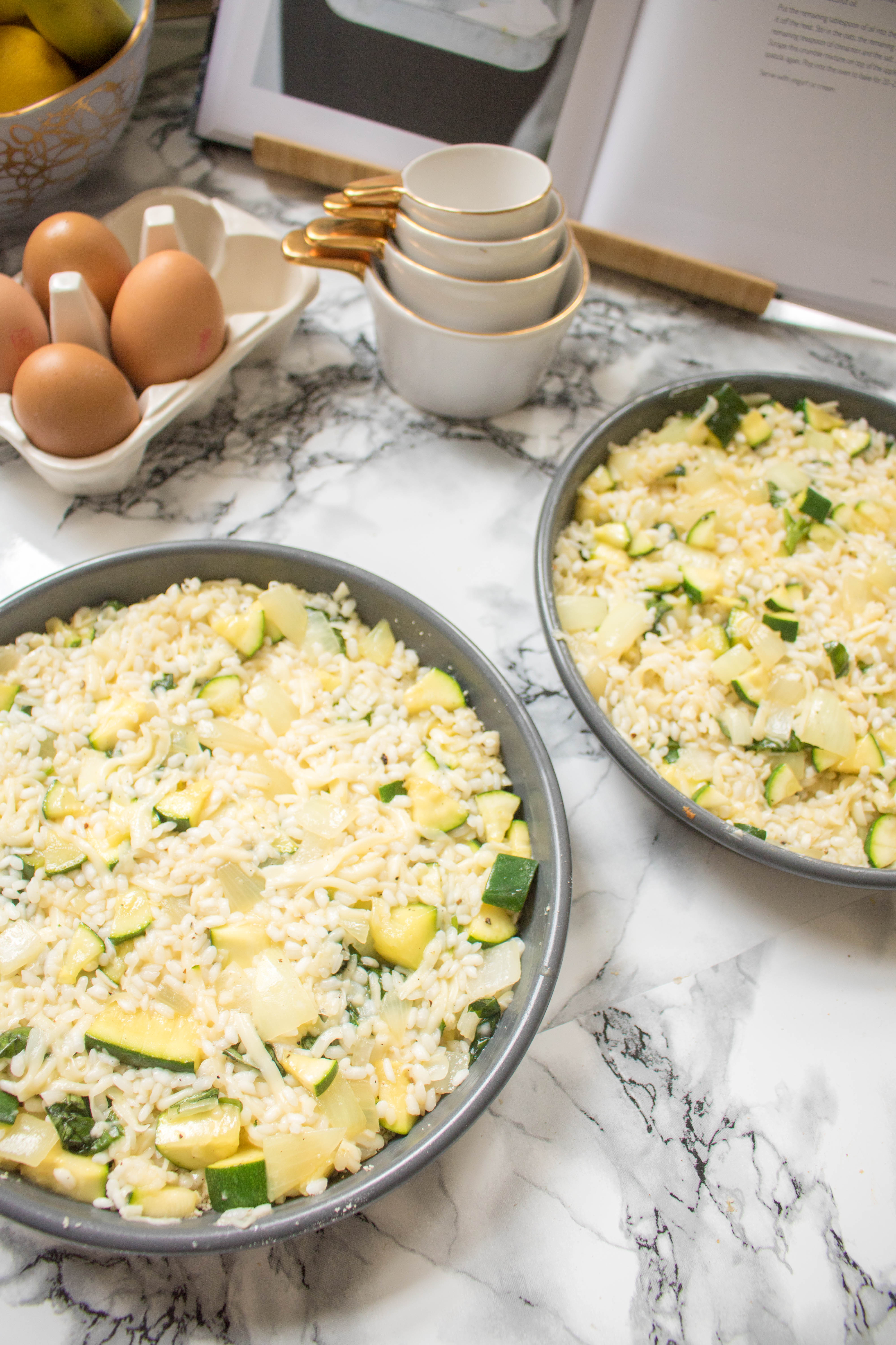 an edited lifestyle recipe courgette risotto torte