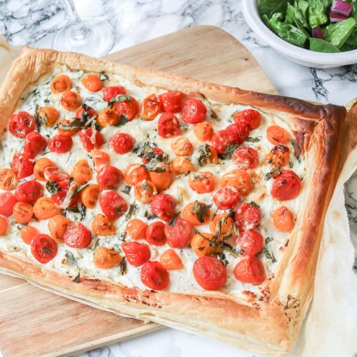 Quick & Easy Italian Tomato Tart