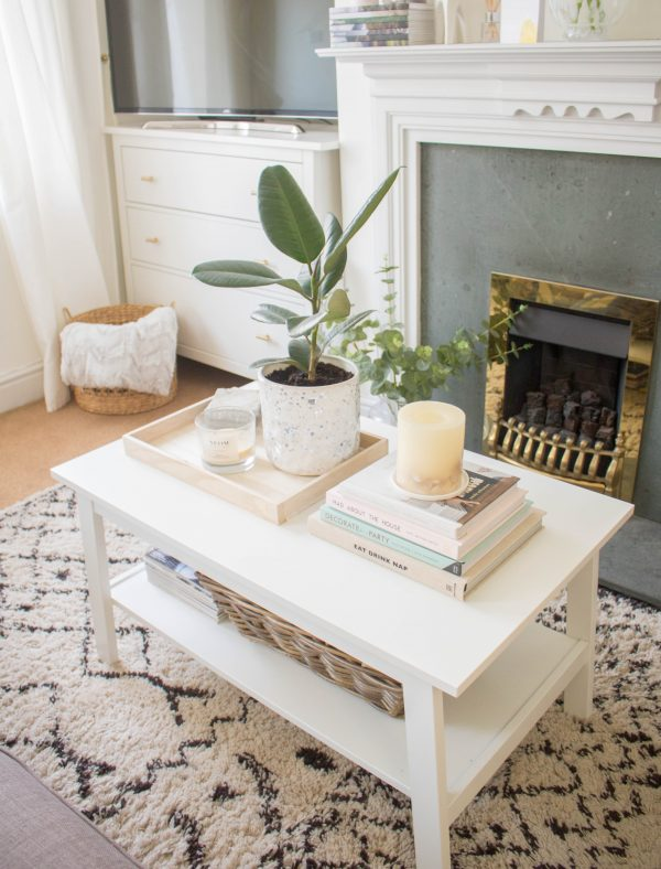 Neutral Coffee Table Update