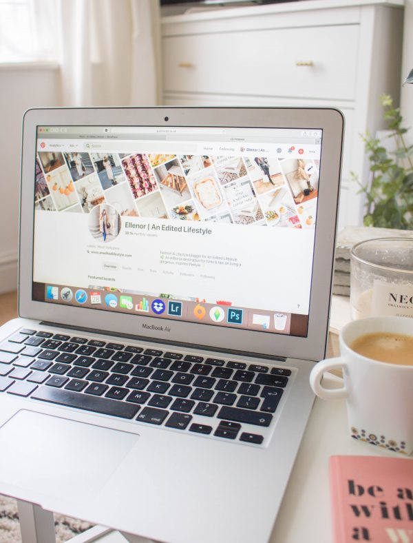 an edited lifestyle career blogging Pinterest guide