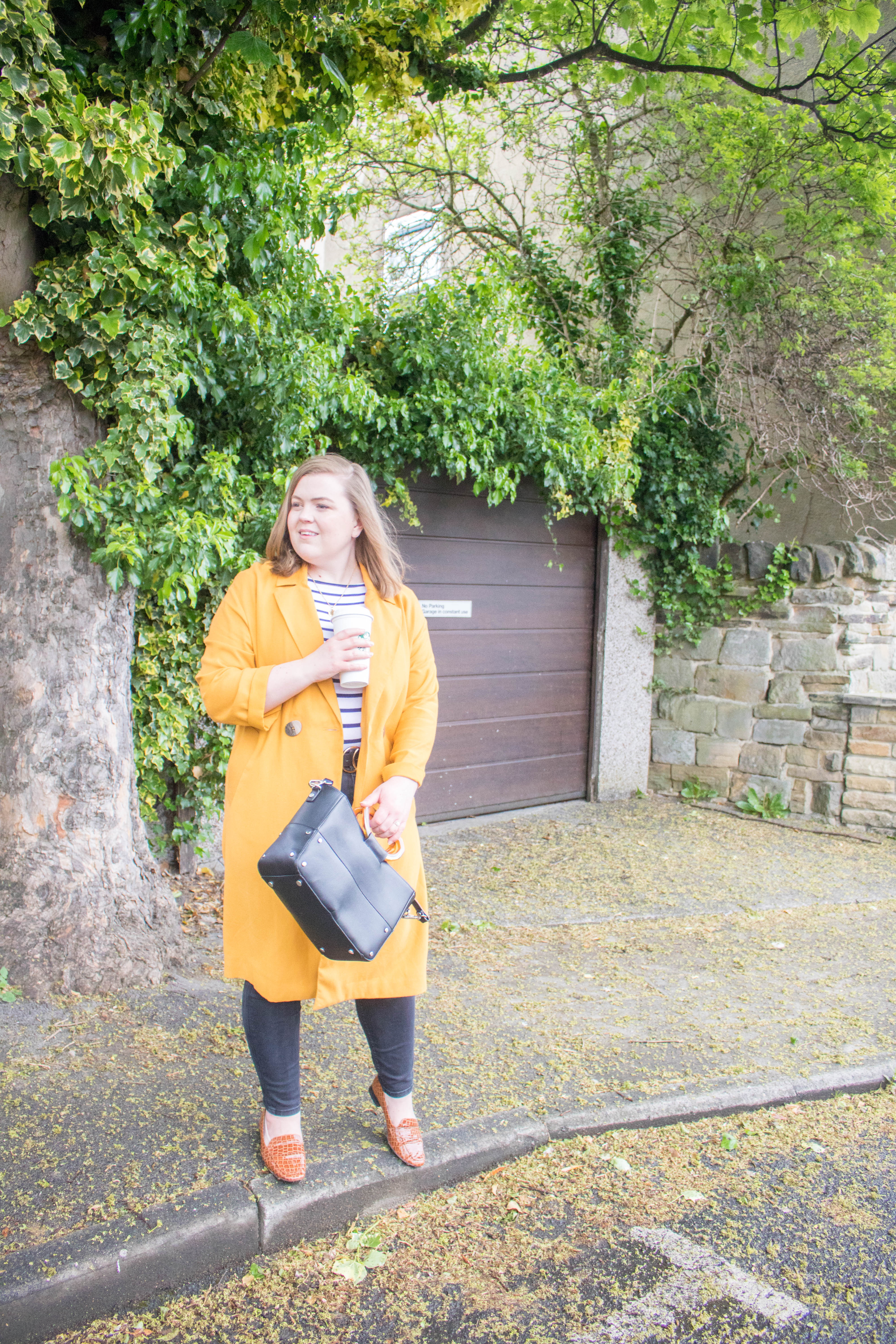 an edited lifestyle fashion simple outfit styling