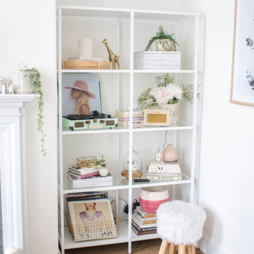 How to Style a Shelving Unit