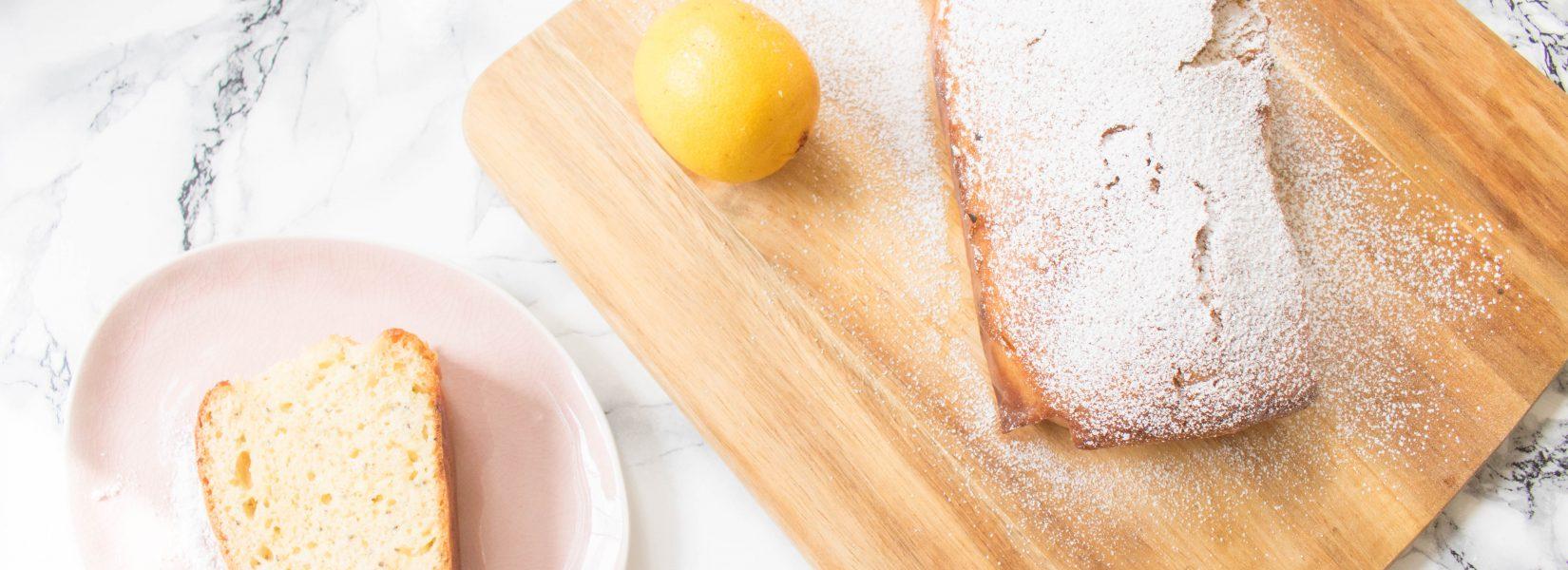 Quick & Easy Lemon Drizzle Cake