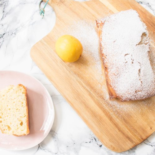 an edited lifestyle recipe lemon drizzle cake