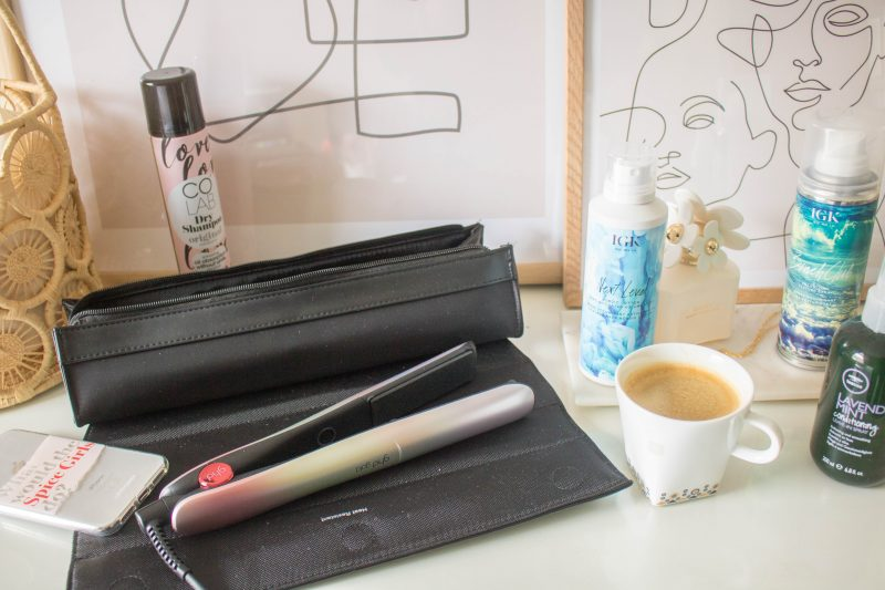 an edited lifestyle beauty ghd festival styling