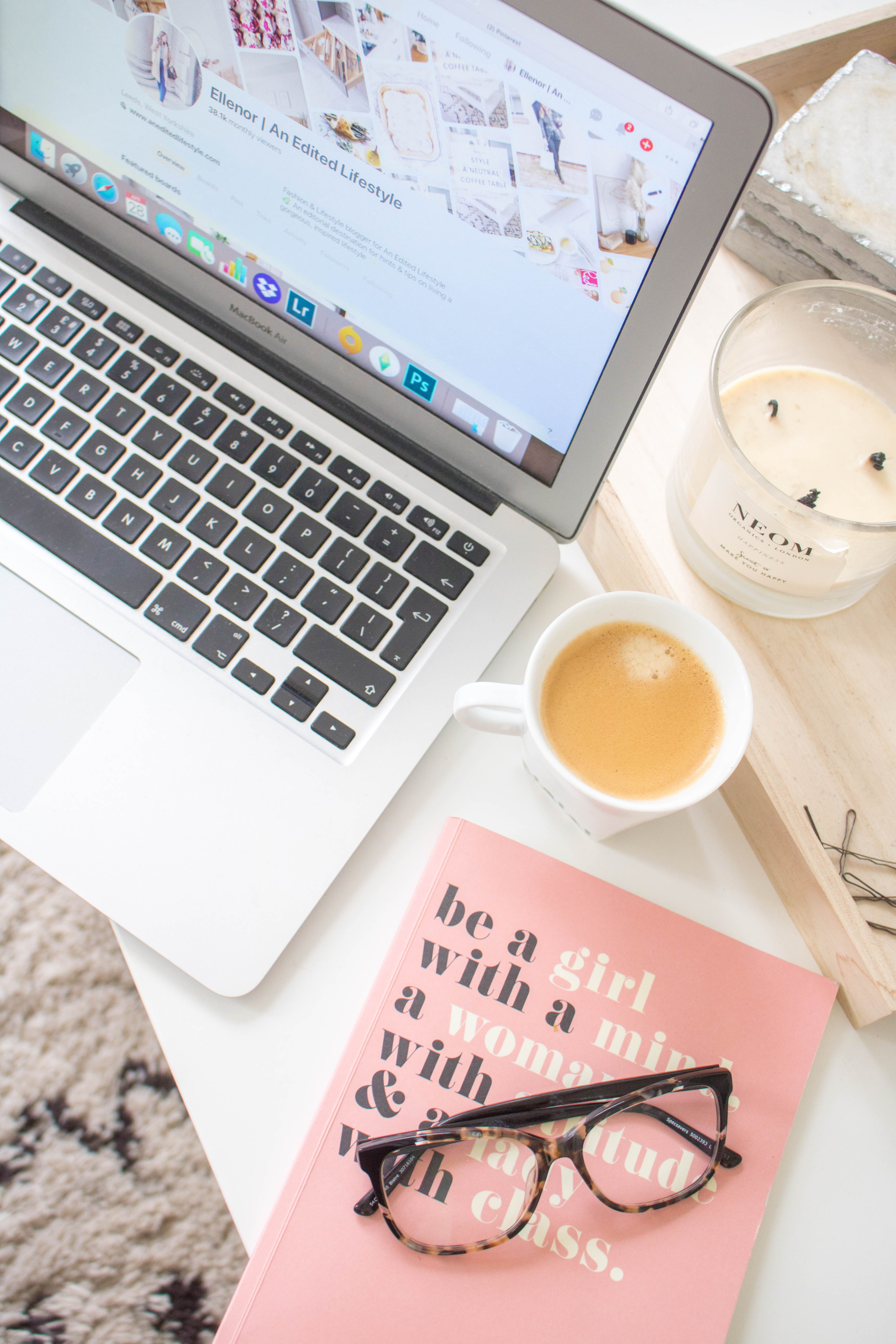 an edited lifestyle pinterest guide
