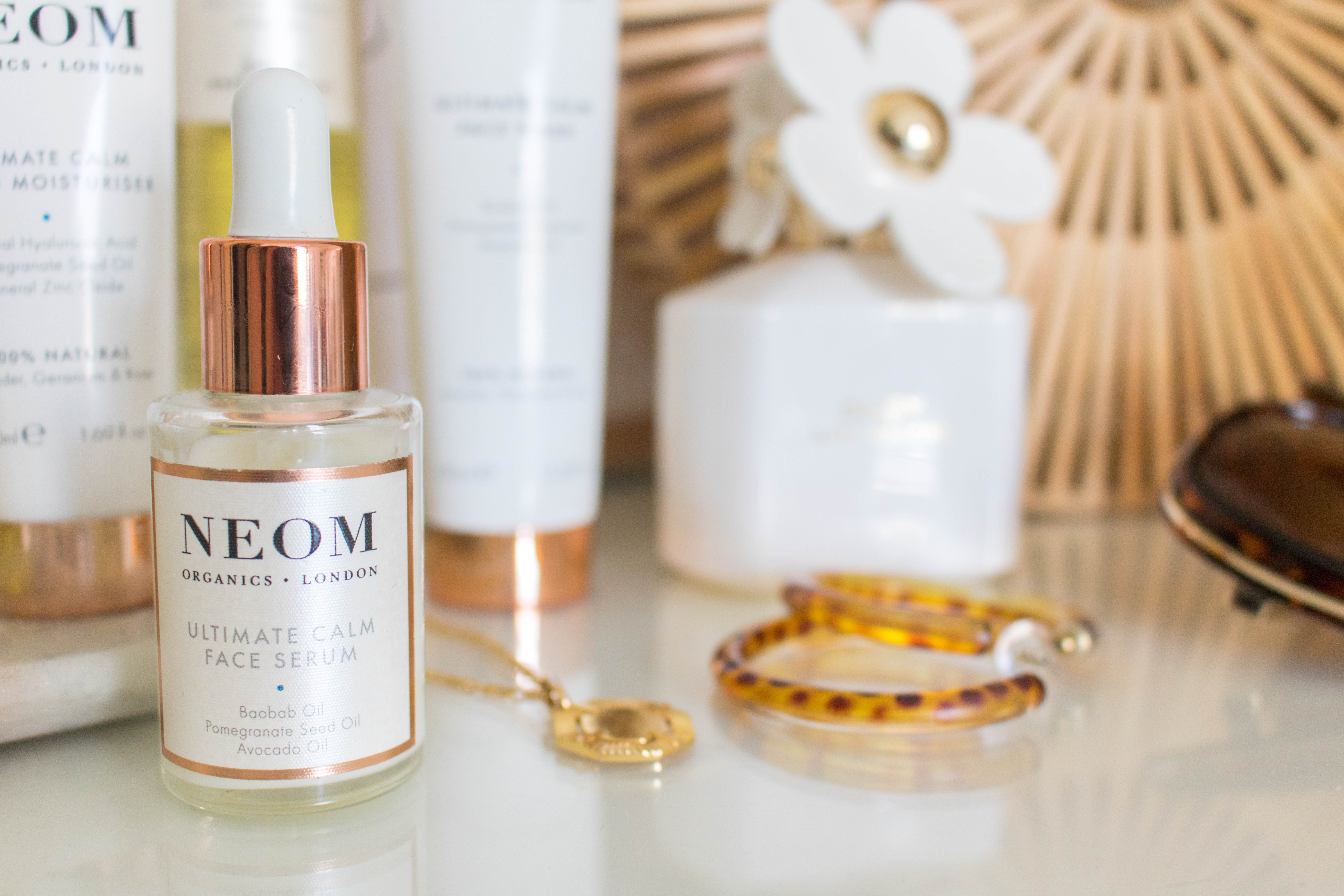 an edited lifestyle beauty neom skincare