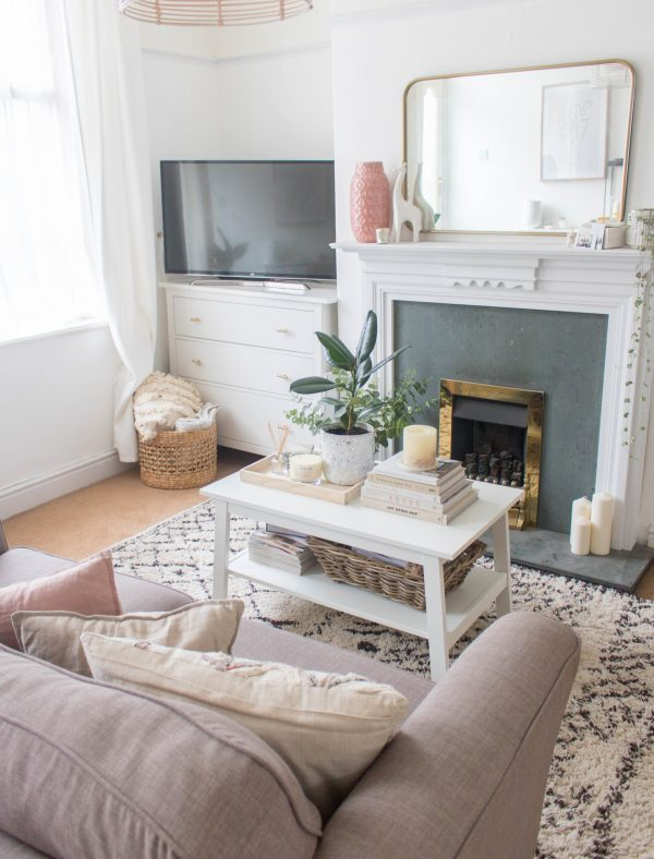 an edited lifestyle decor room feel bigger