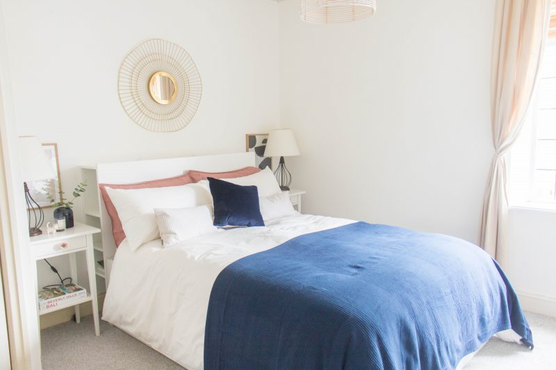 an edited lifestyle decor bedroom makeover reveal
