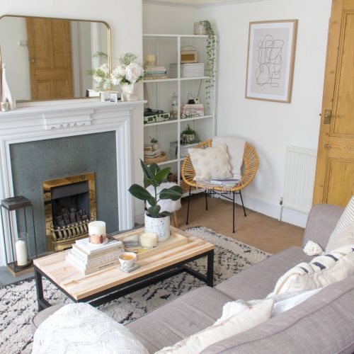 My Rental Living Room Makeover 3.0