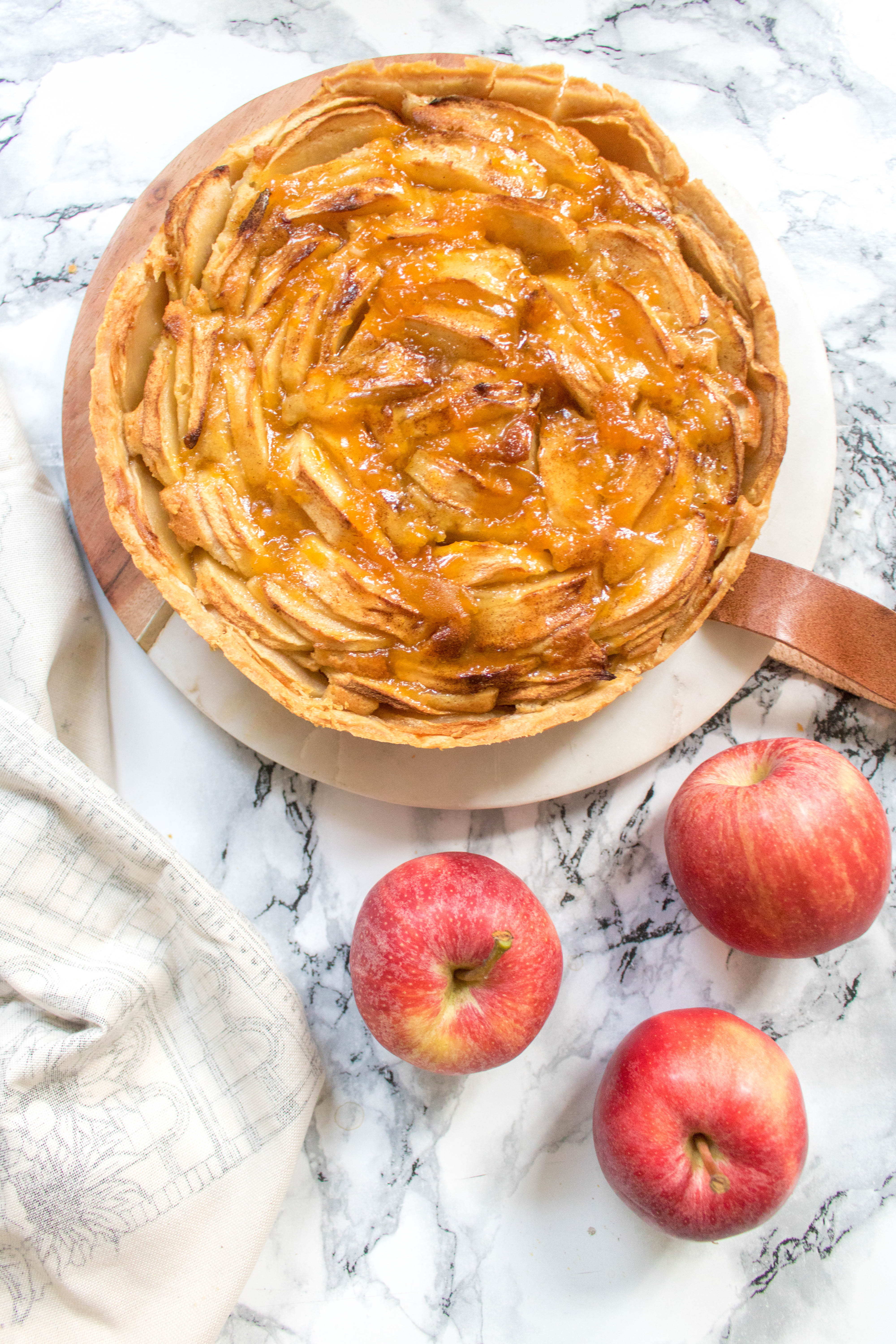 an edited lifestyle recipe french apple tart