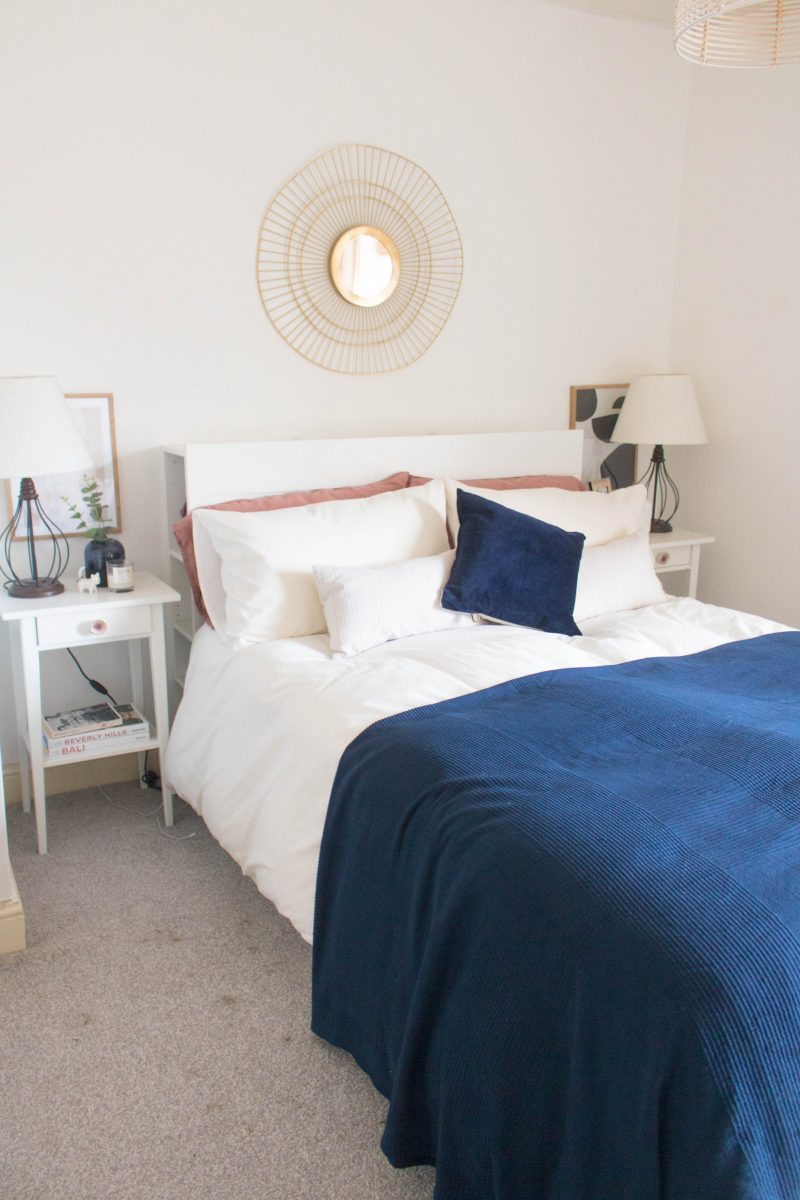 an edited lifestyle decor how to style a bed
