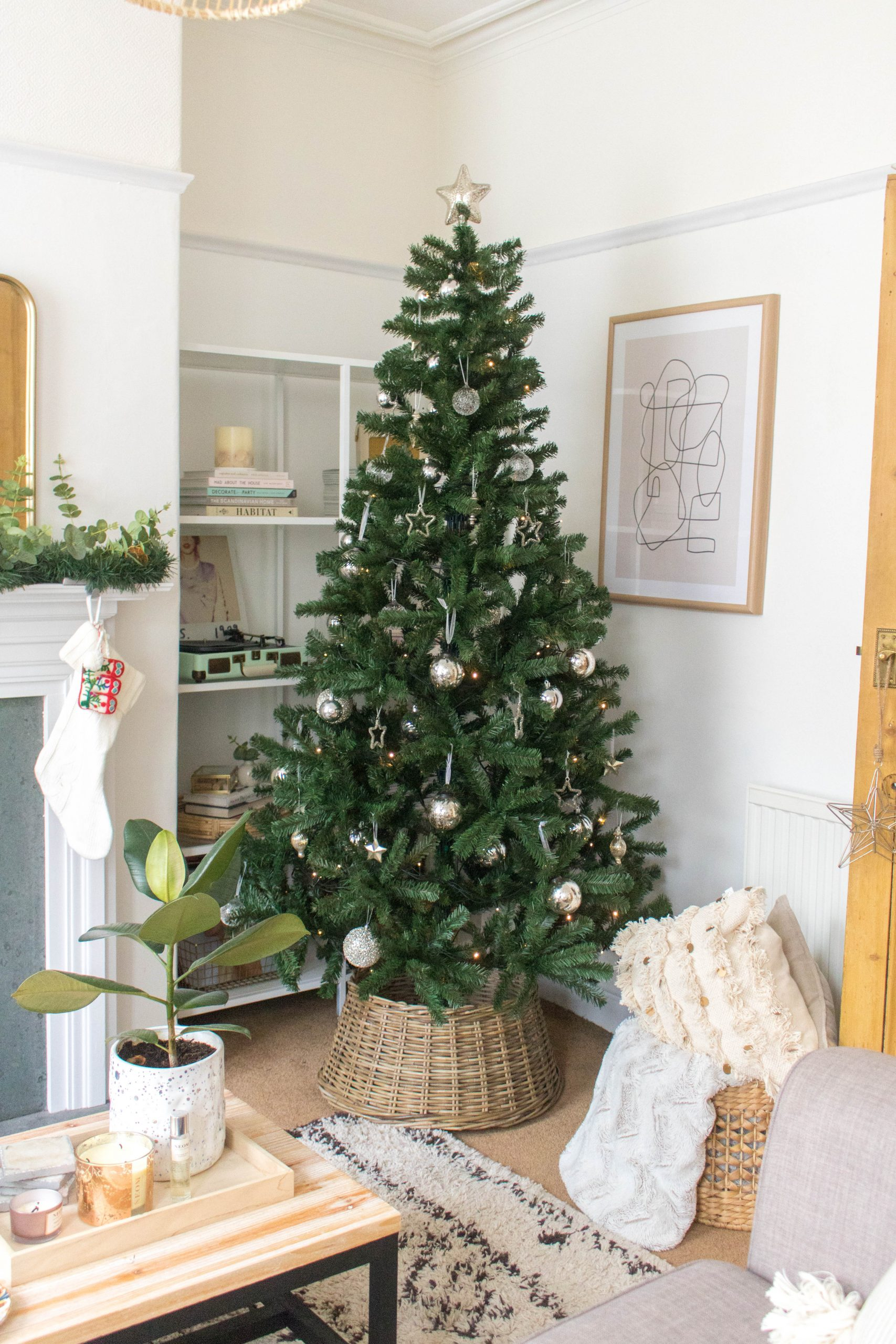 an edited lifestyle interiors decorated for christmas