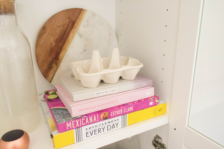 an edited lifestyle decor rental kitchen