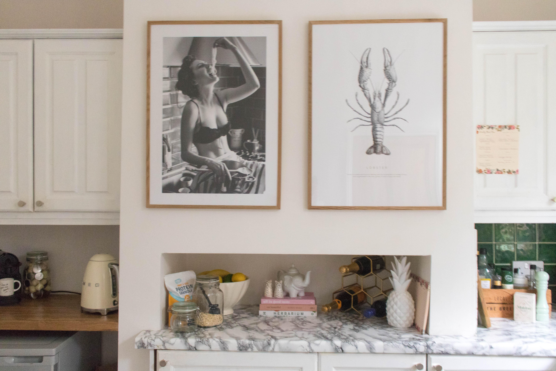 an edited lifestyle decor kitchen