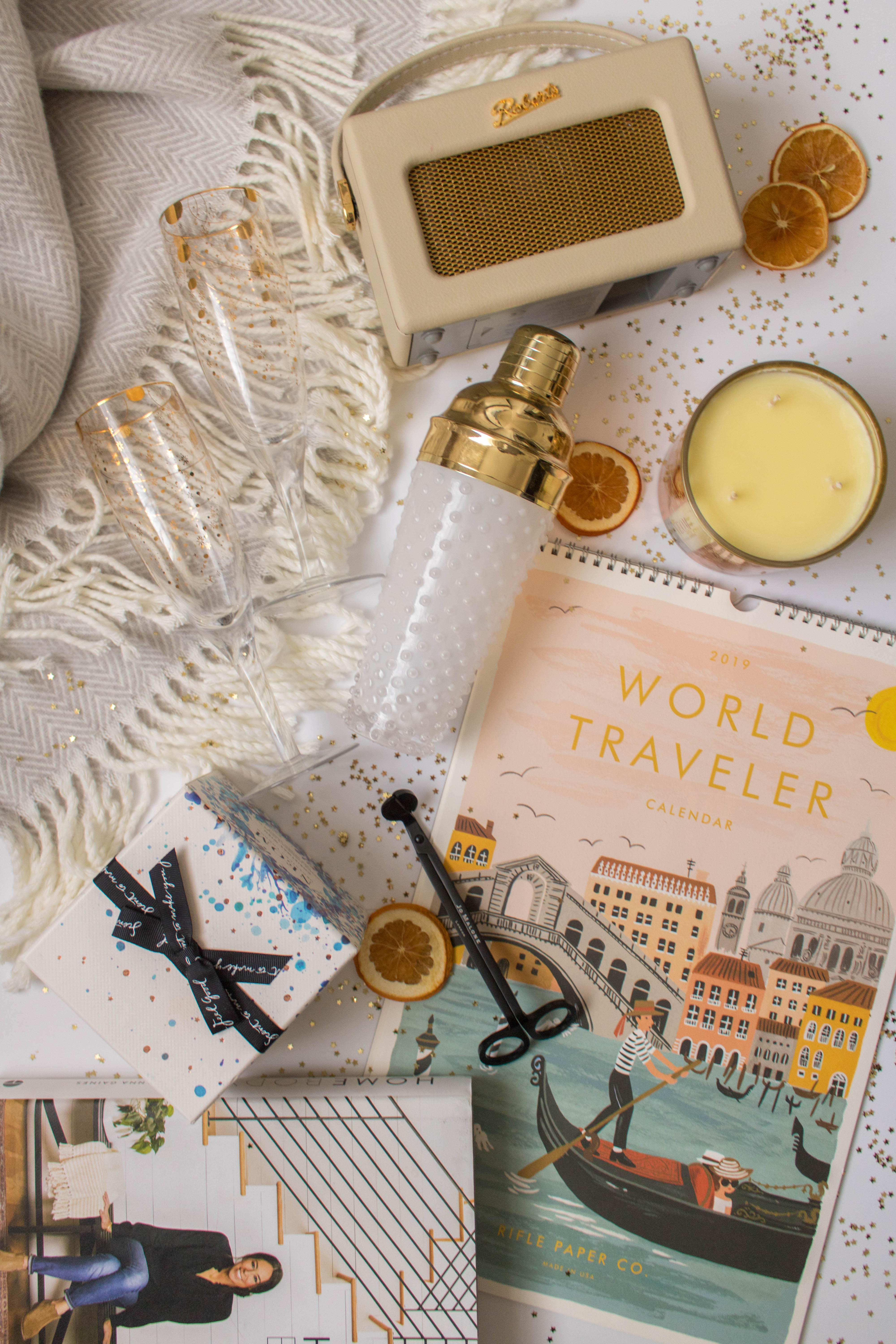 an edited lifestyle gift guide home and entertaining