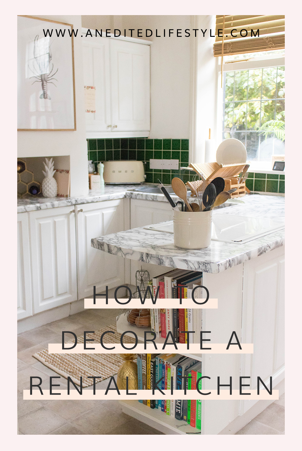 how to decorate a rental kitchen pinterest
