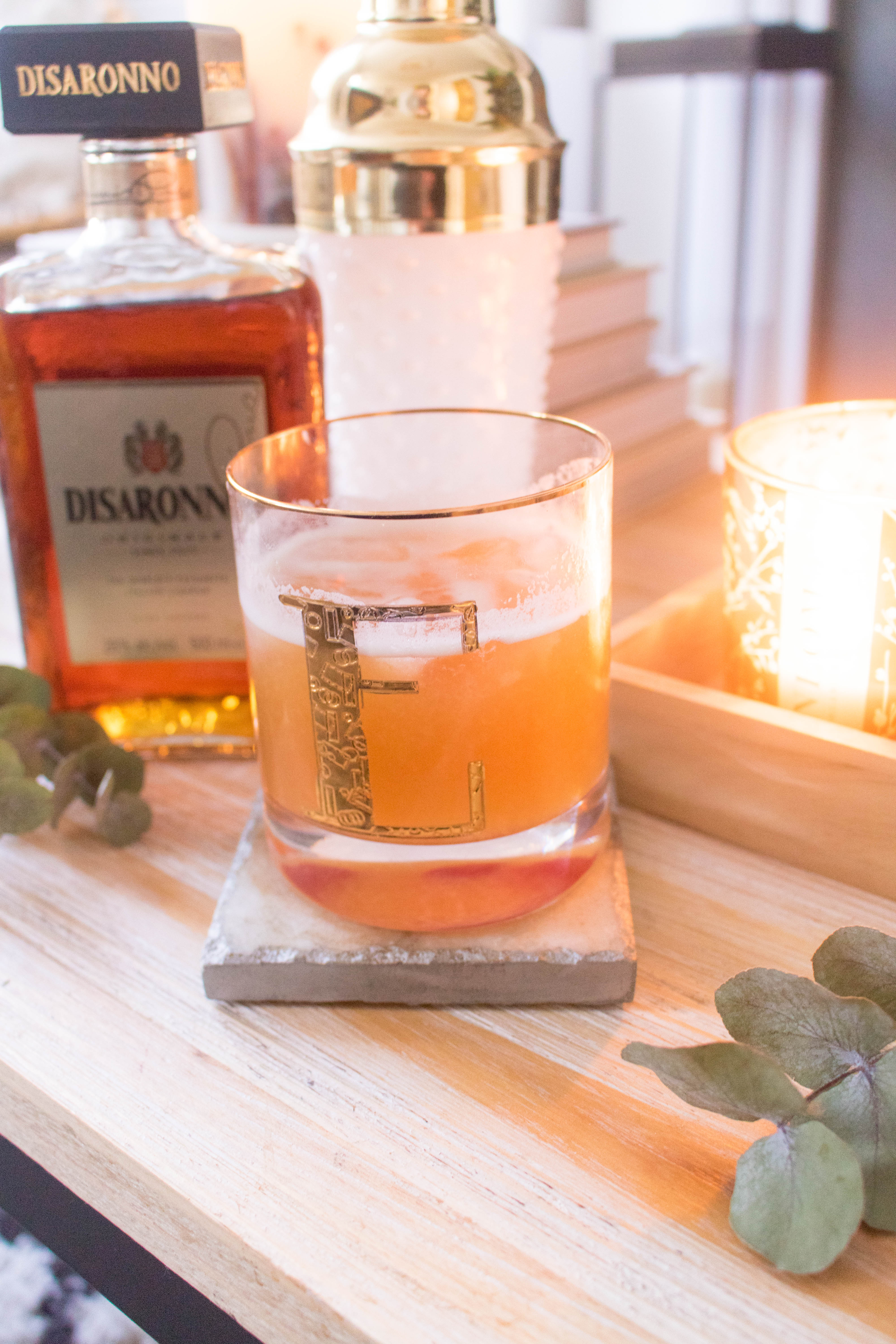 an edited lifestyle cocktail amaretto sour recipe
