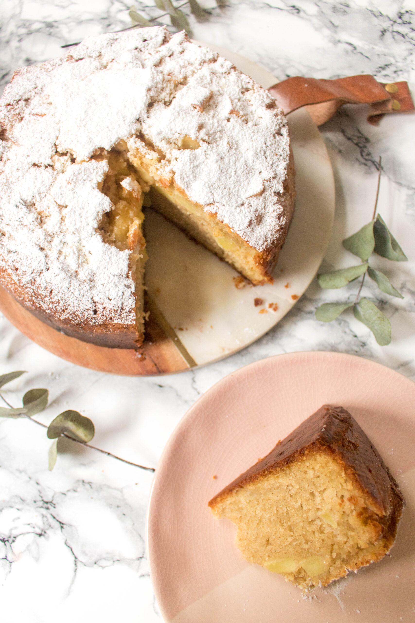 Festive Spiced Apple Cake