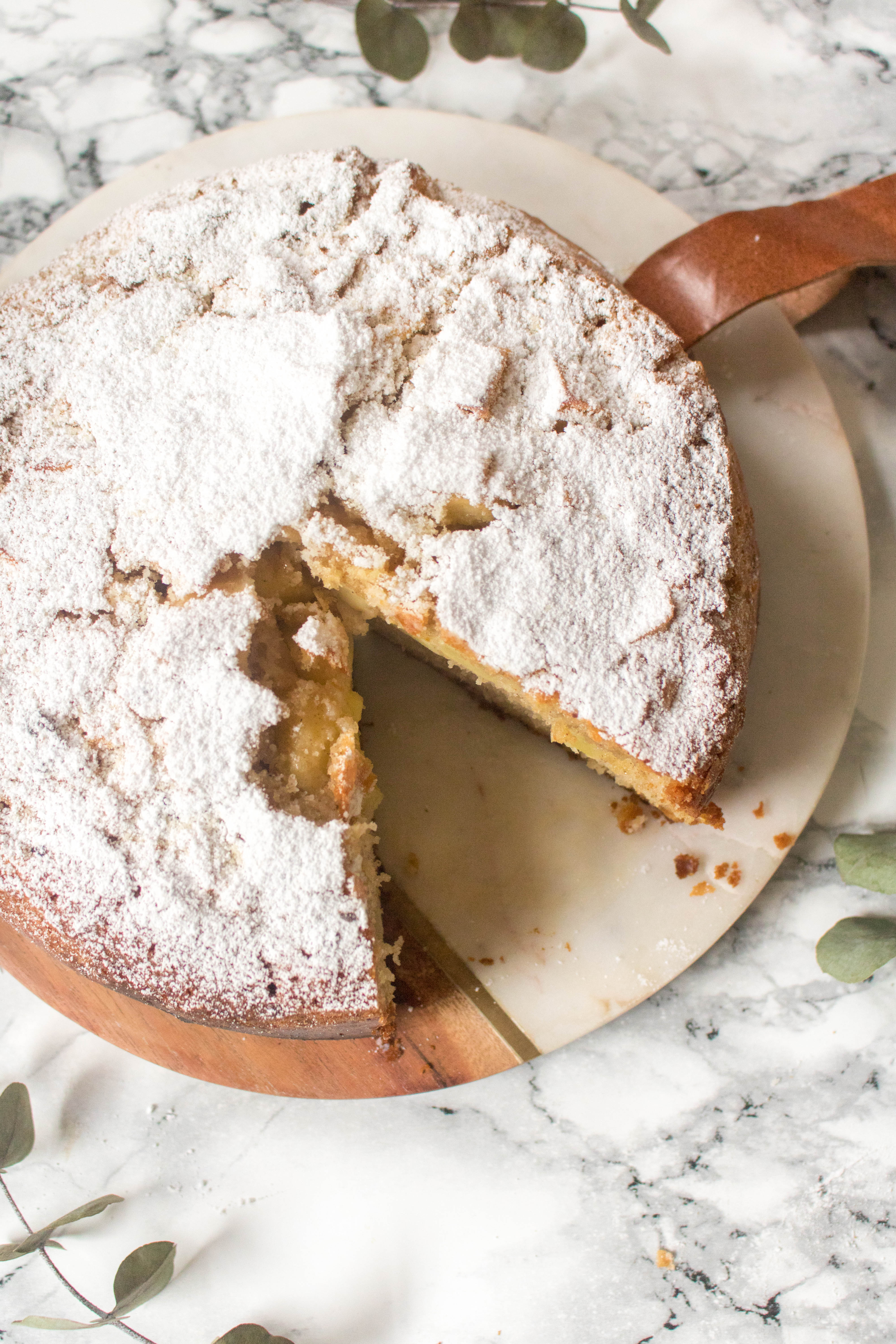 an edited lifestyle recipe spiced apple cake