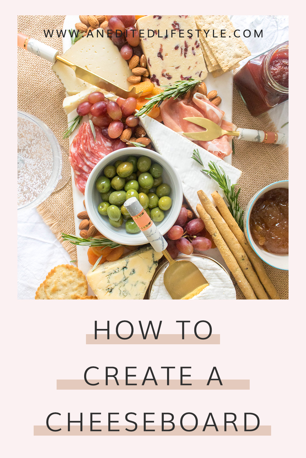 how to create a cheeseboard pinterest