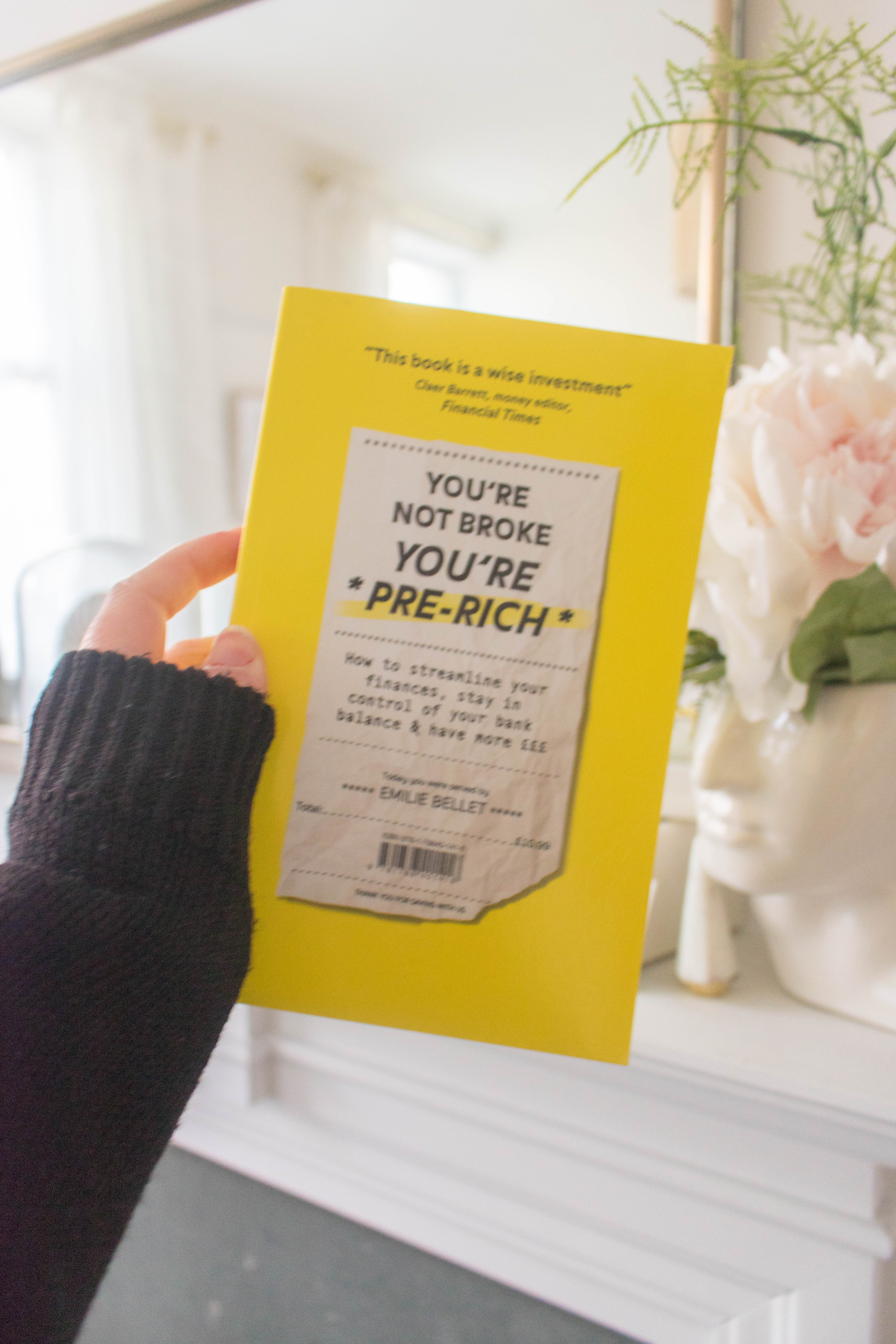 an edited lifestyle book review you're not broke, you're pre-rich