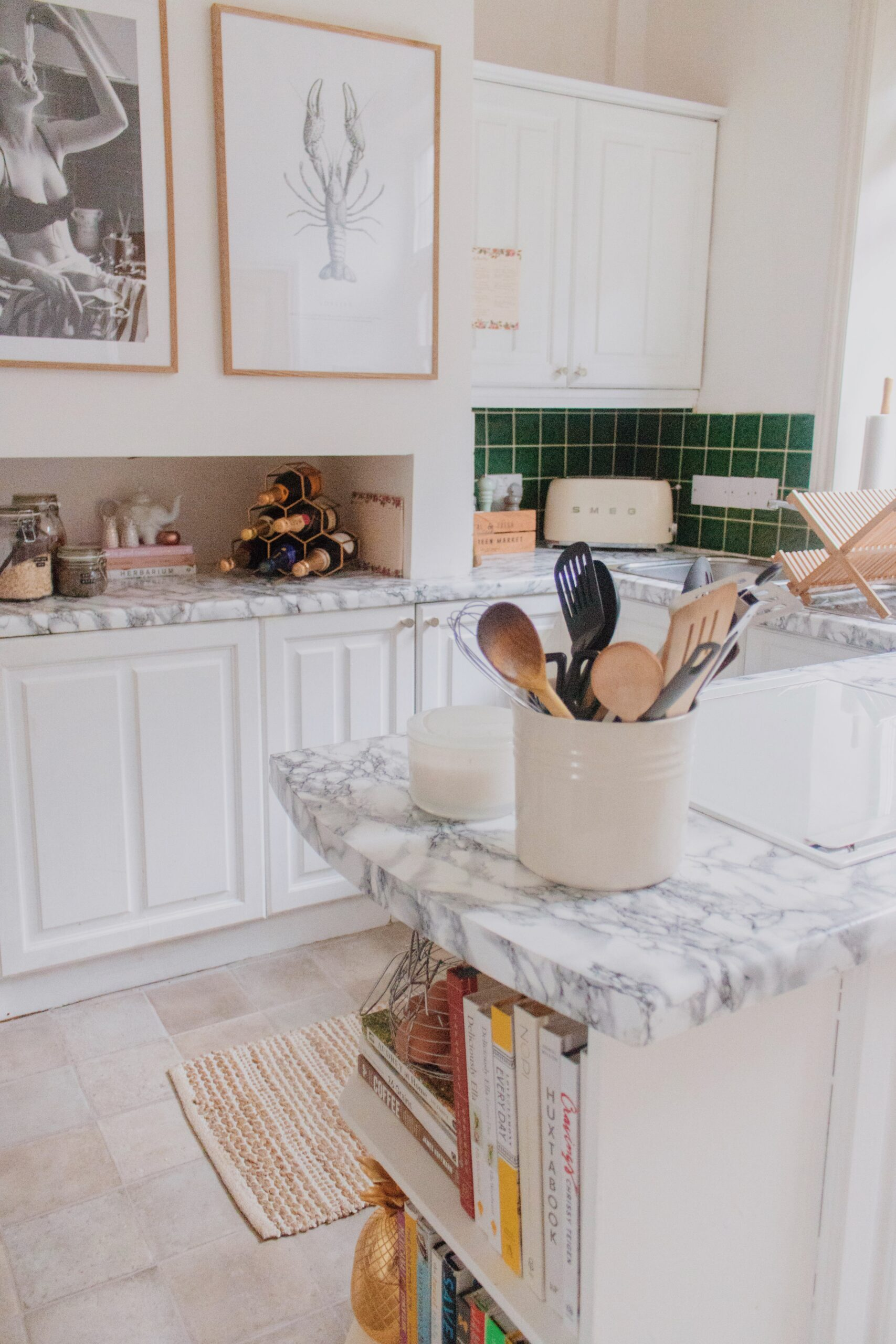 Using Contact Paper in Your Rental Kitchen & How it's Worn 12 Months Later