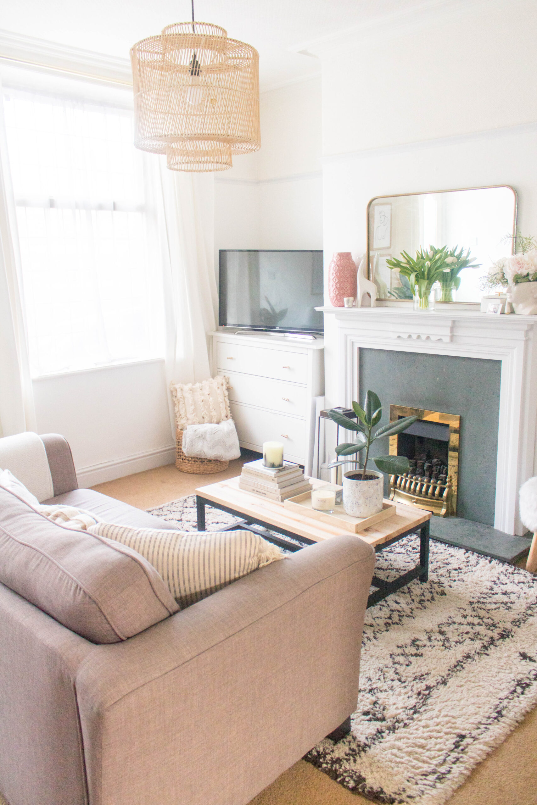 How to Make Your Living Room Look Pulled Together