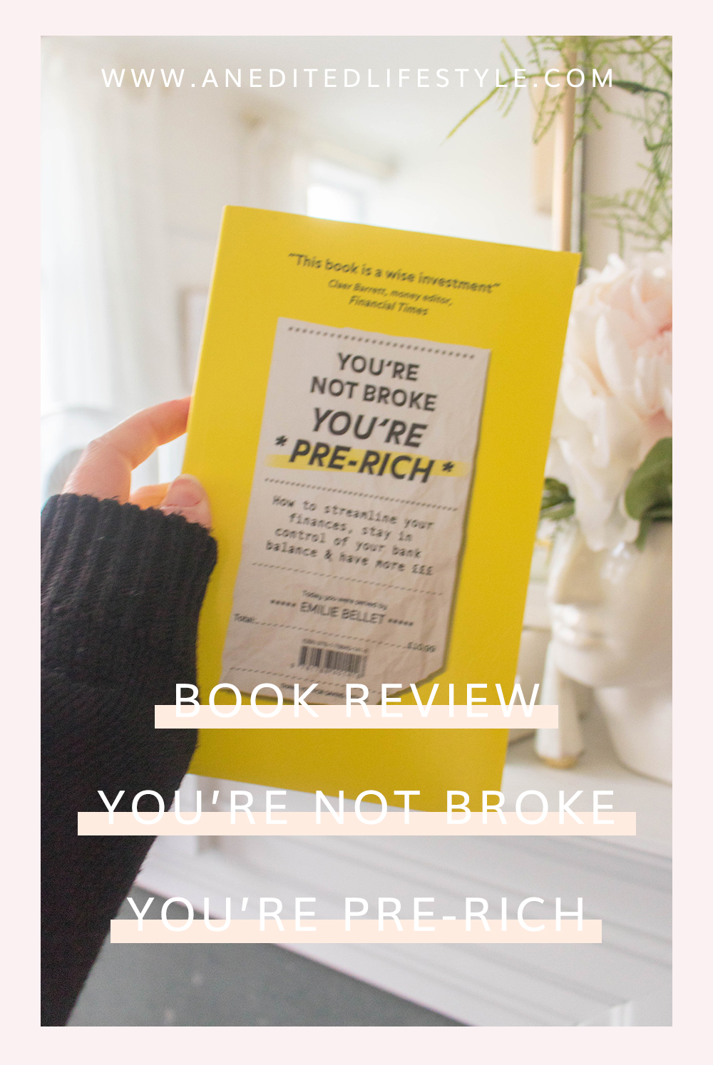 book review you're not broke you're pre rich pinterest