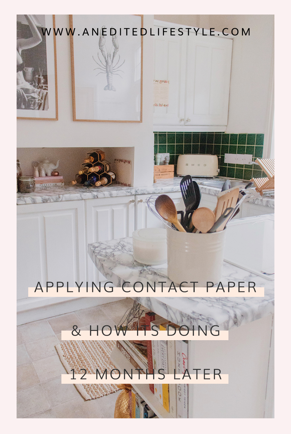an edited lifestyle interiors contact paper rental kitchen makeover