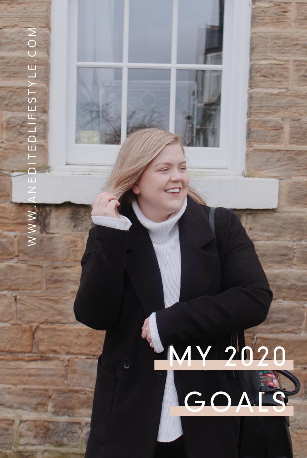 an edited lifestyle 2020 goals pinterest