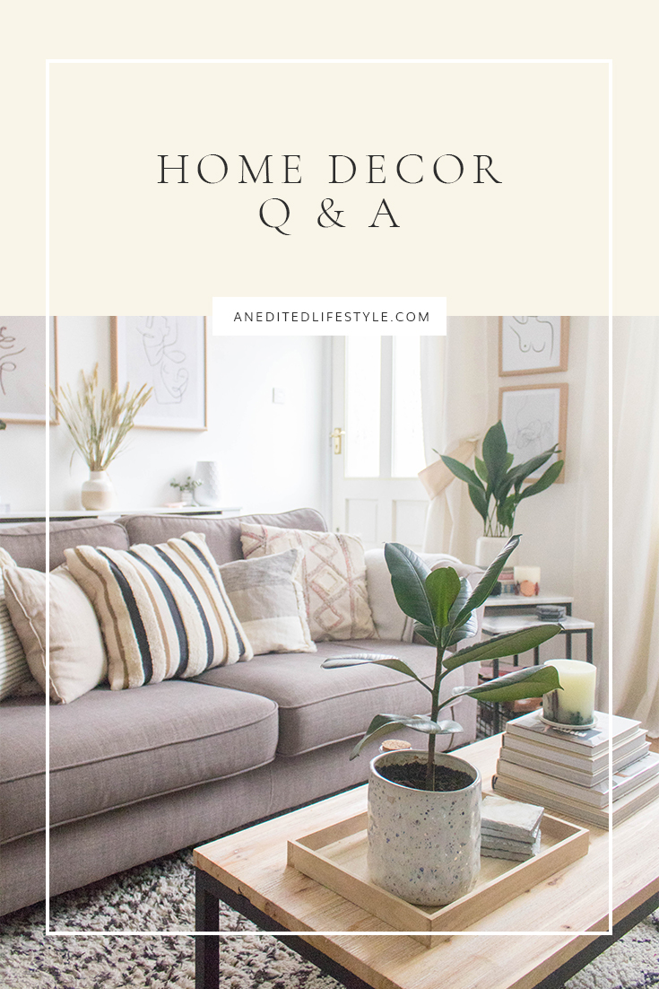an edited lifestyle decor pinterest