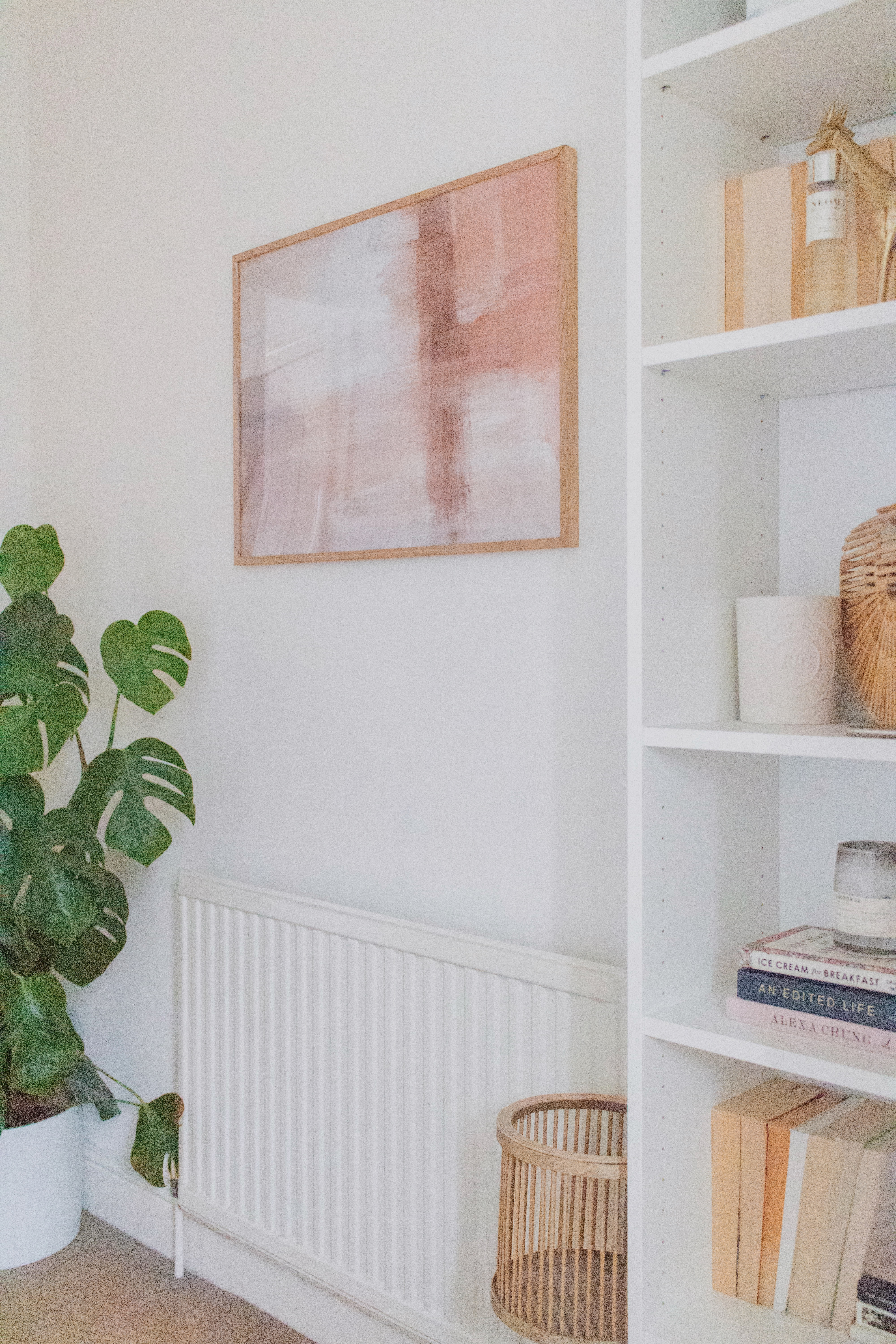 an edited lifestyle interiors colour into a neutral home