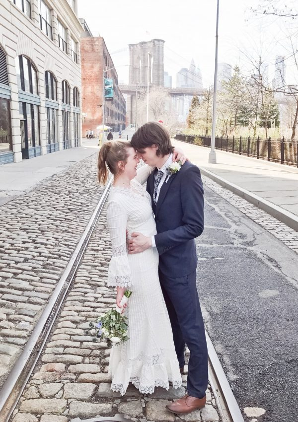 an edited lifestyle wedding elope in new york city