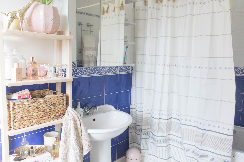 an edited lifestyle interiors rental bathroom makeover